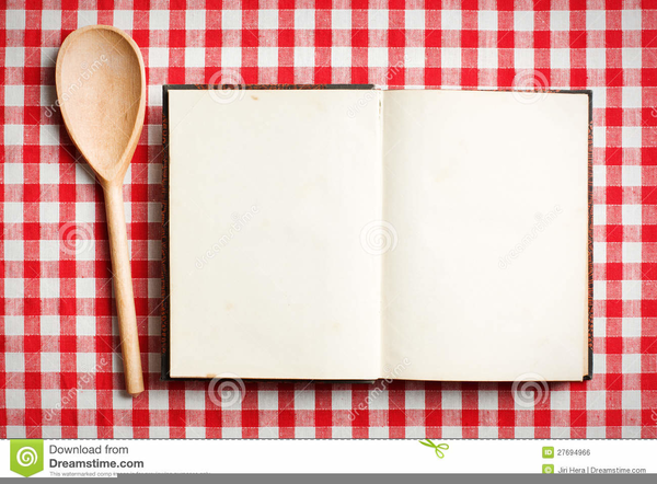 Recipe Book Clipart Free.