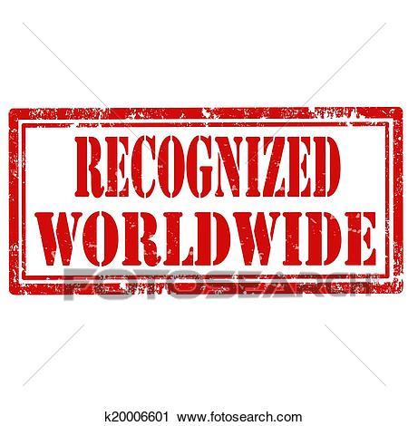 Recognized Worldwide.
