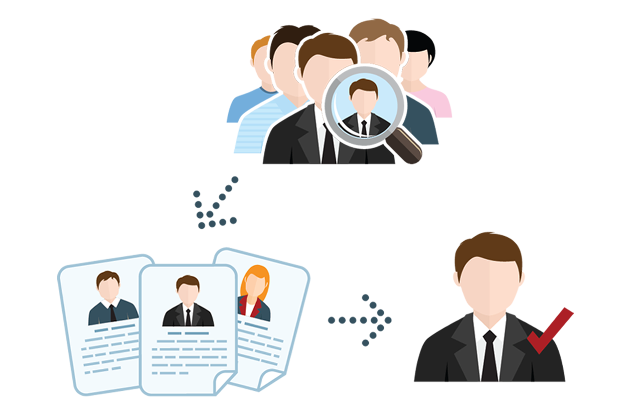 Job clipart recruitment agency, Job recruitment agency.