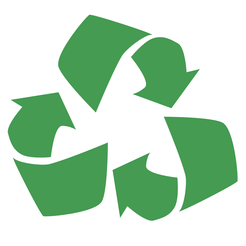 Free Clipart: Recycle Symbol.