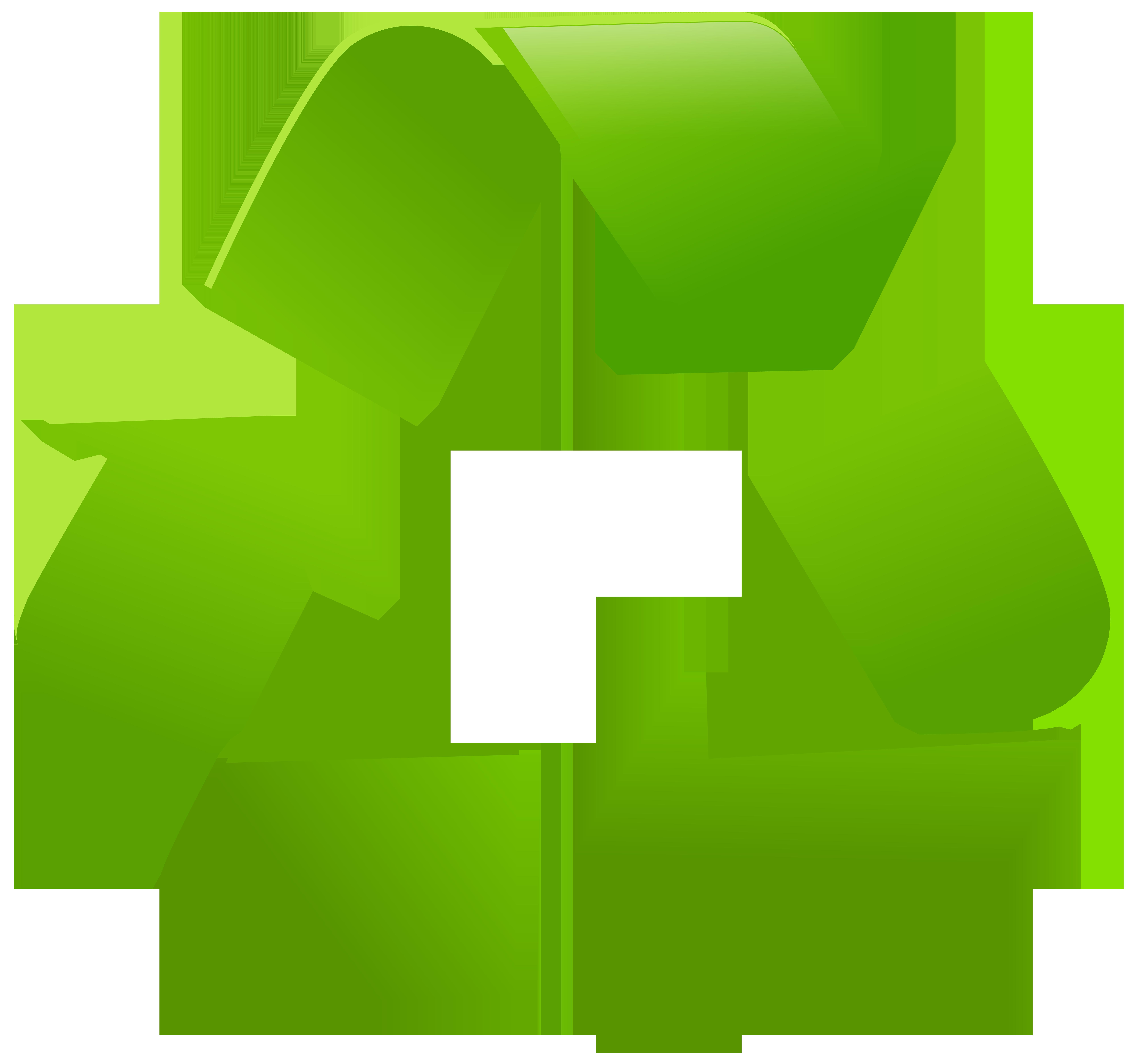 Recycle Symbol PNG Clip Art.