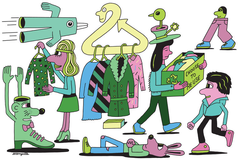 Purging Your Closets? Don\'t Stuff All Your Old Duds Into a.
