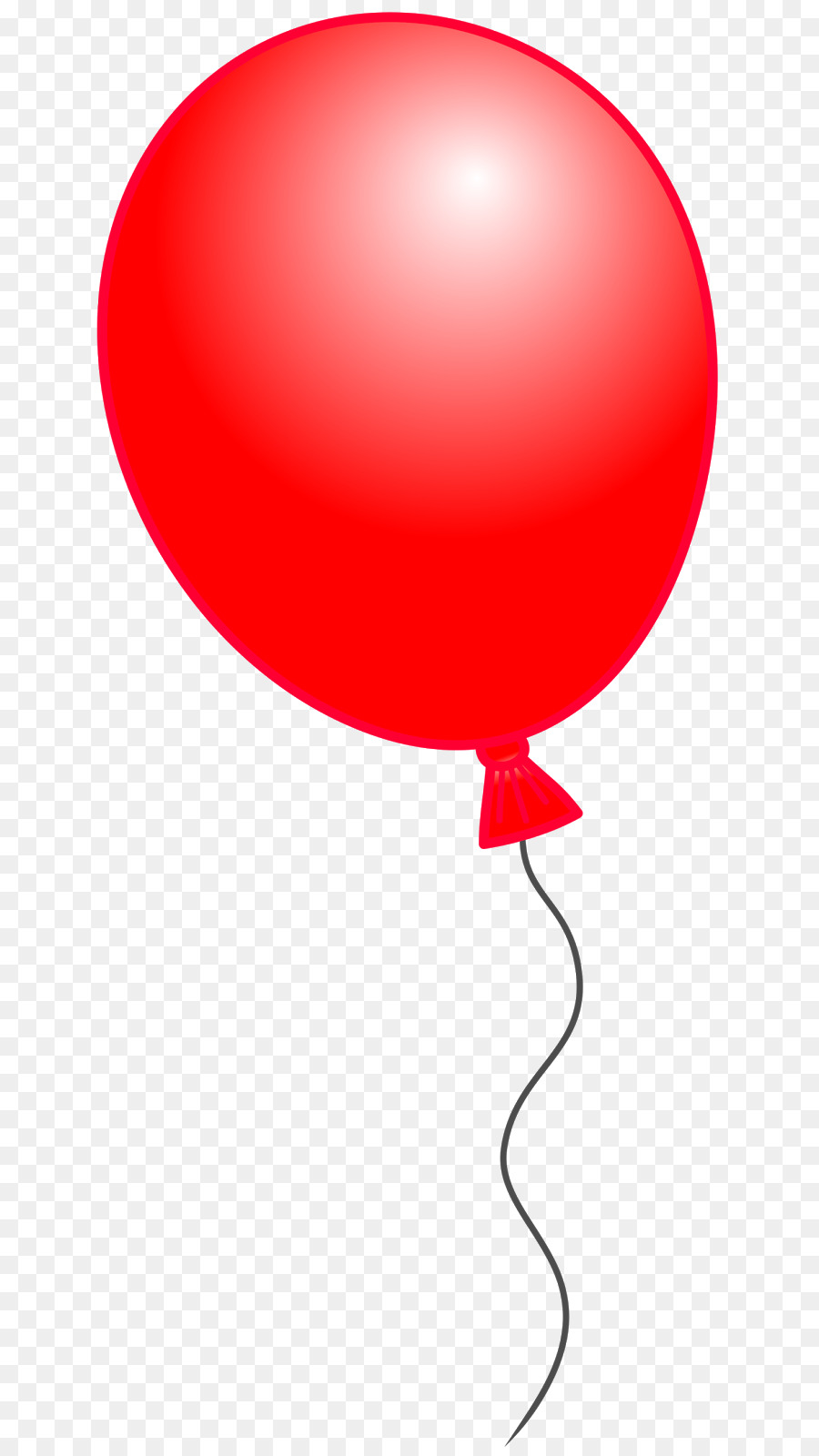 Red Balloon png download.