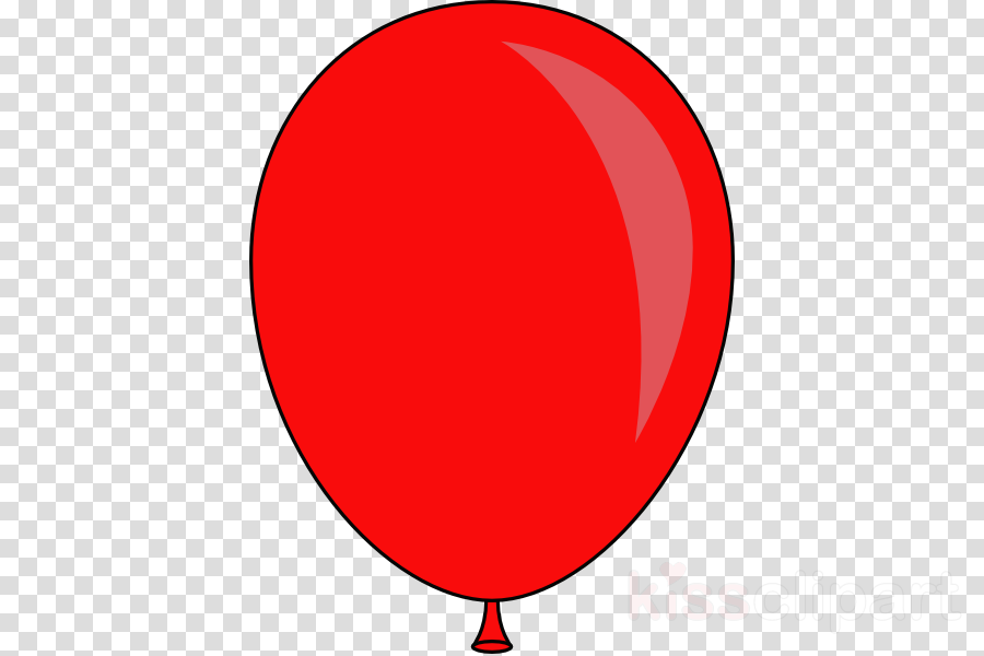 Red Balloons clipart.