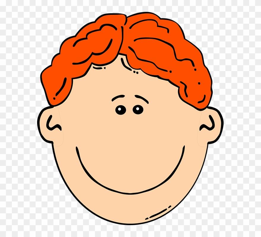 Red Hair Cartoon Boy Clipart (#164337).