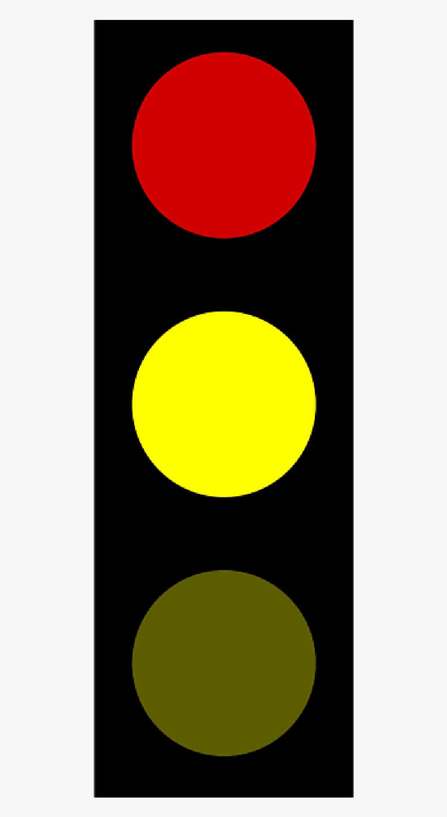 Stoplight Clipart Yellow.
