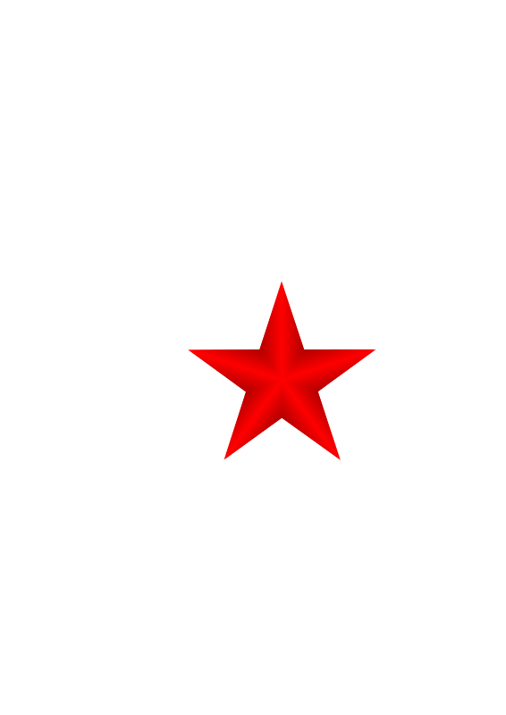 Free Clipart: Red Star.