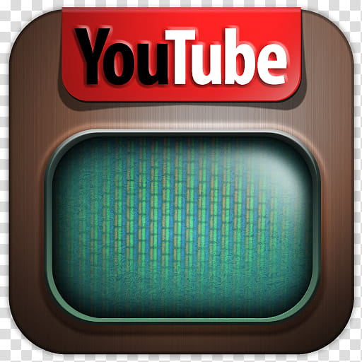 Iconos redes sociales , YouTube () transparent background.