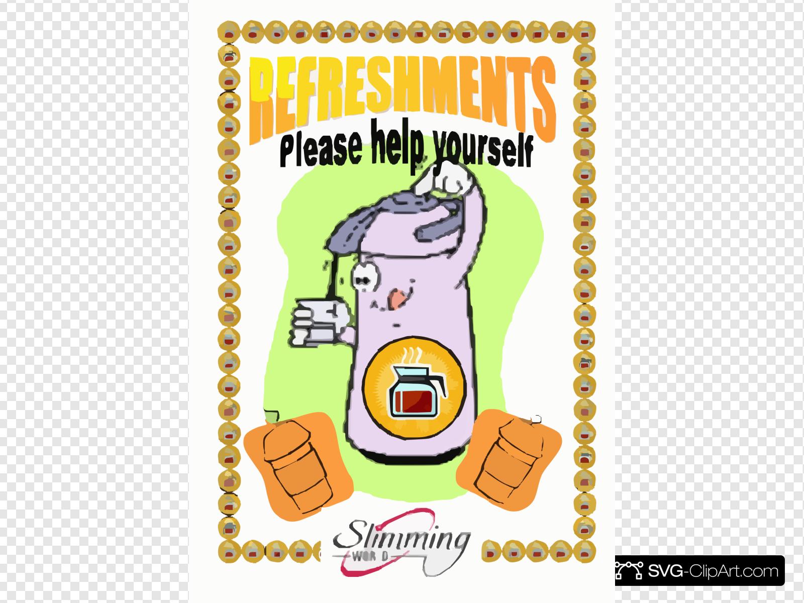 Refreshments Clip art, Icon and SVG.