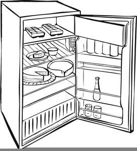 Free Food Clipart Refrigerator.