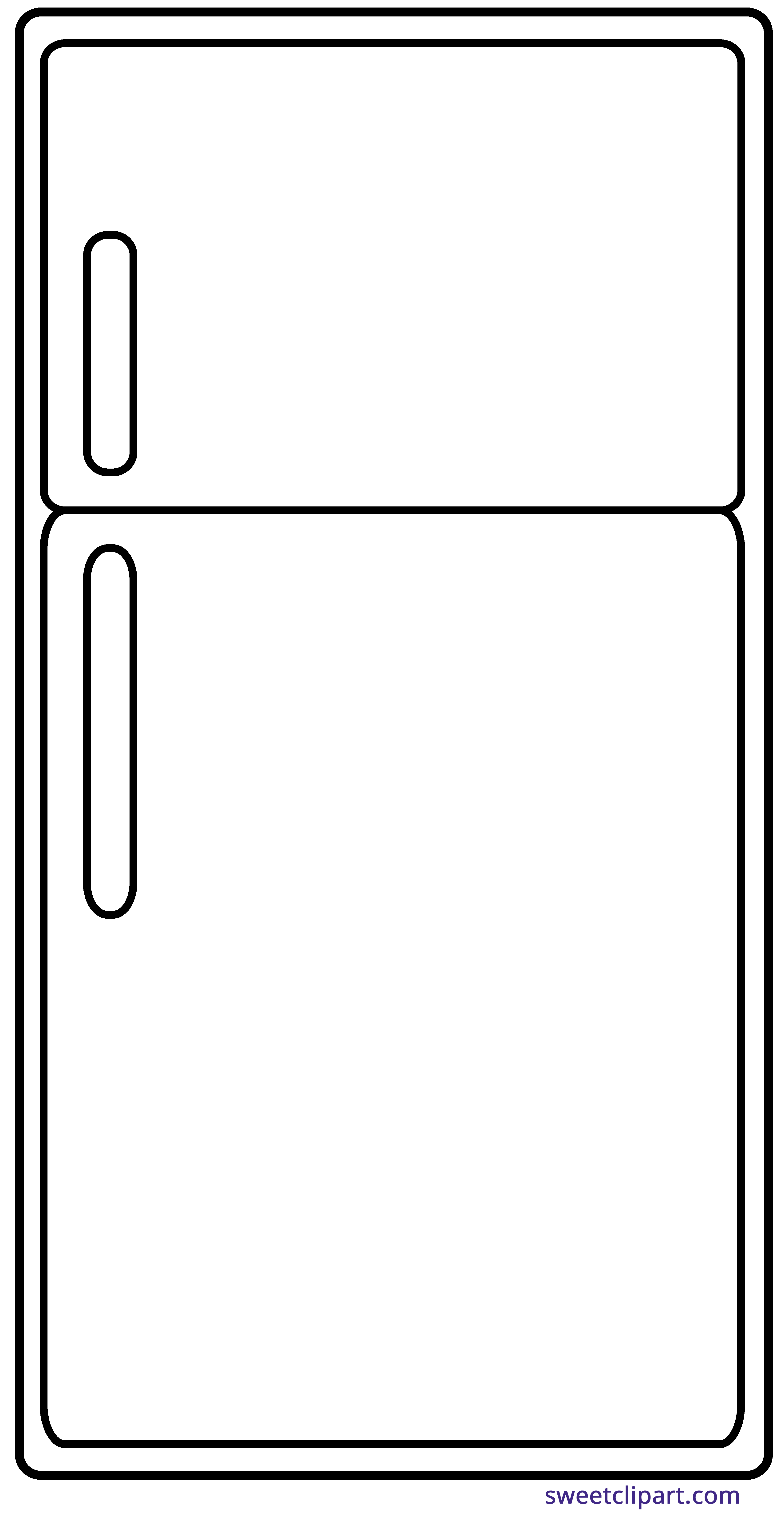 45+ Refrigerator Clipart.