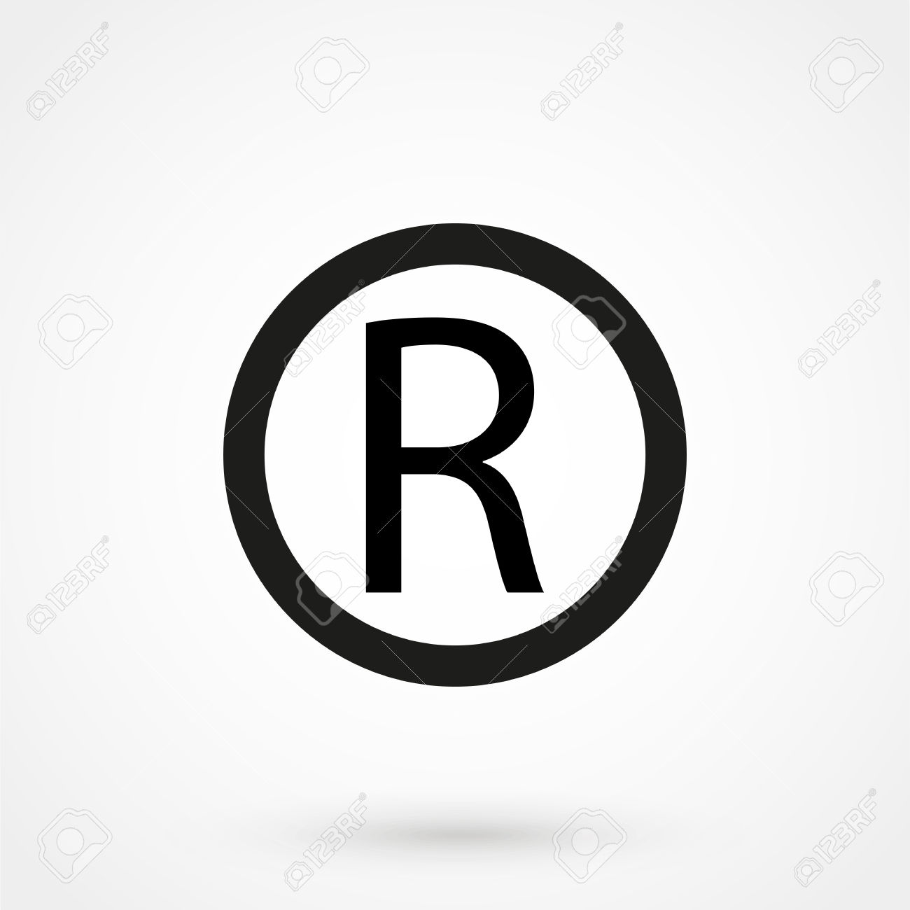 Registered Trademark Symbol Royalty Free Cliparts, Vectors, And.