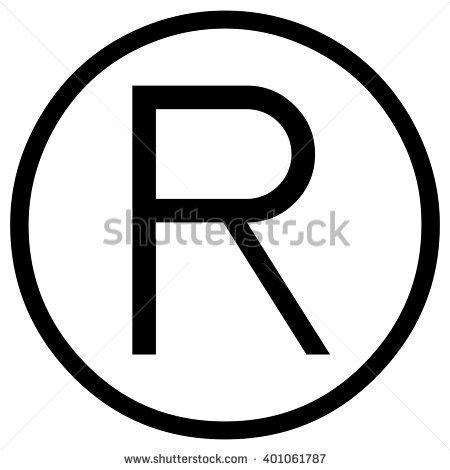 Registered Trademark Symbol Stock Images, Royalty.