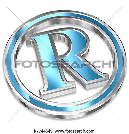 Stock Illustration of Registered Trademark Symbol k7744645.