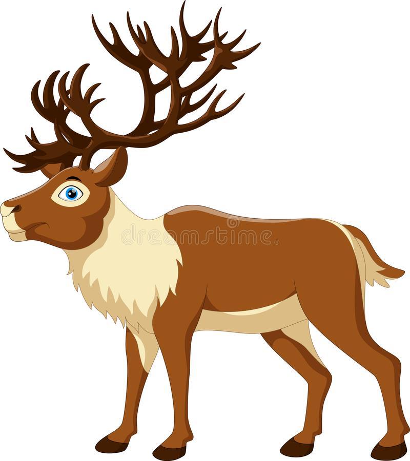 Cartoon Reindeer Clip Art Stock Illustrations.