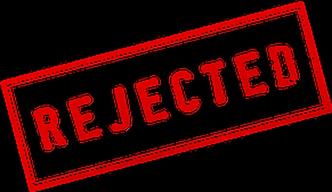 Rejected Stamp Png Clip Art Transparent Download.