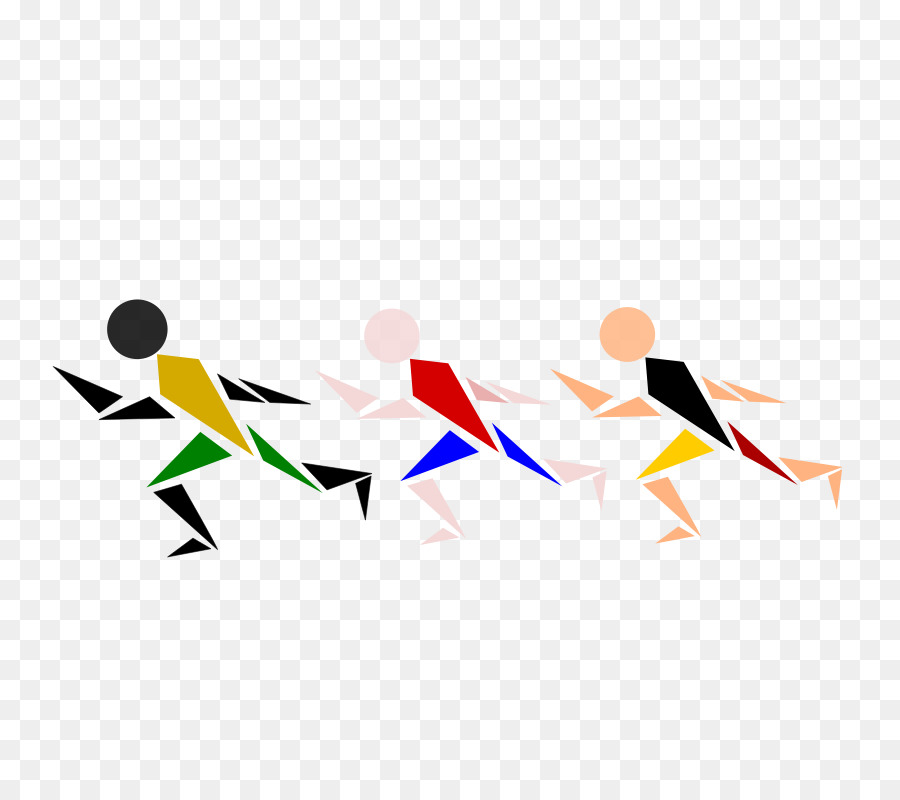 Running Cartoon png download.