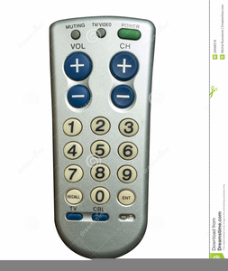Free Tv Remote Clipart.