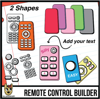 Remote Control Clip Art: Build Your Remote!.