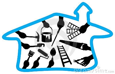 Office Renovation Clipart.