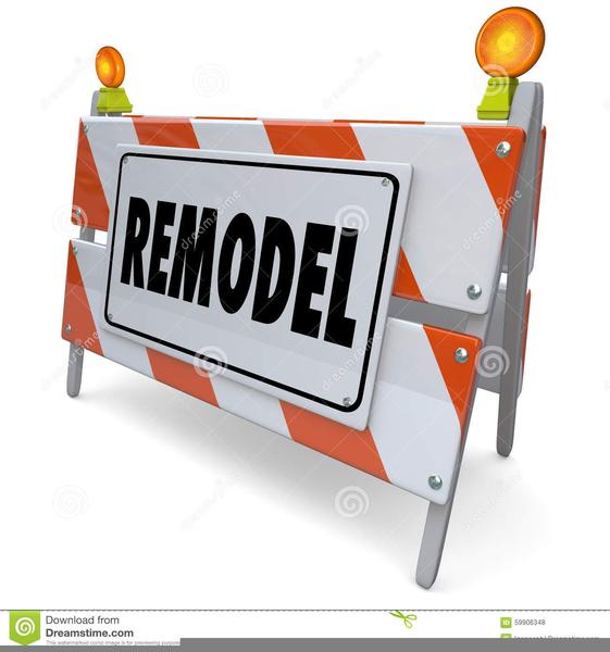 Home Renovations Clipart.
