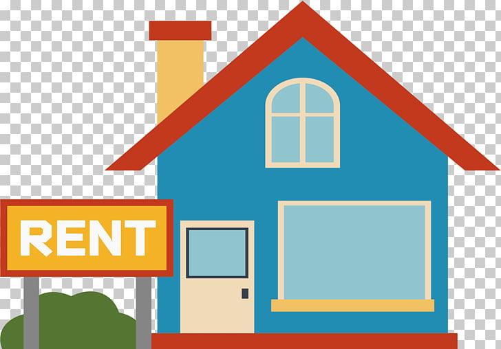 House Renting u51fau79dfu623f Home, A house for rent, blue.