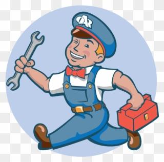 Free PNG Repairman Clip Art Download.