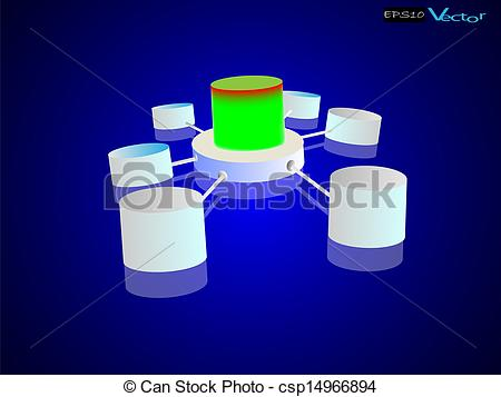 Data Integration Clipart.