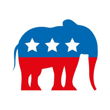 928 Republican Elephant Stock Vector Illustration And Royalty Free.