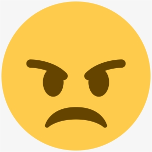 Angry Emoji Clipart Irate.