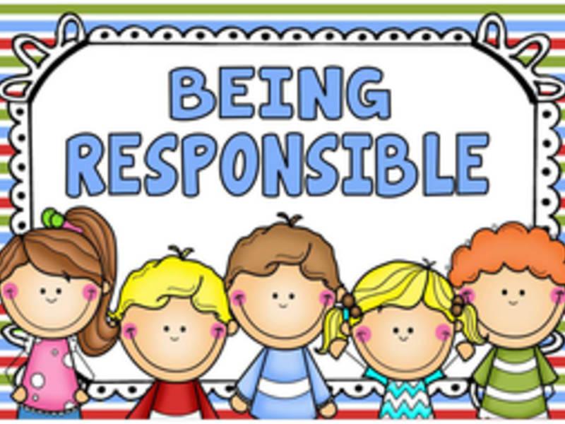 Responsibility clipart responsible parent, Responsibility.