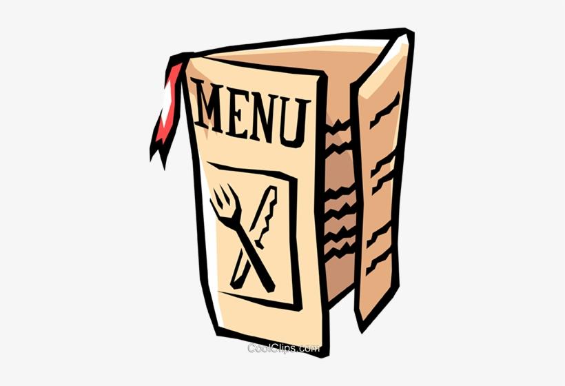 Restaurant Menu Royalty Free Vector Clip Art Illustration.