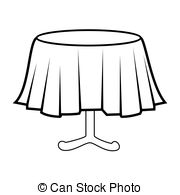 Restaurant Table Clipart Vector & Free Clip Art Images #25177.