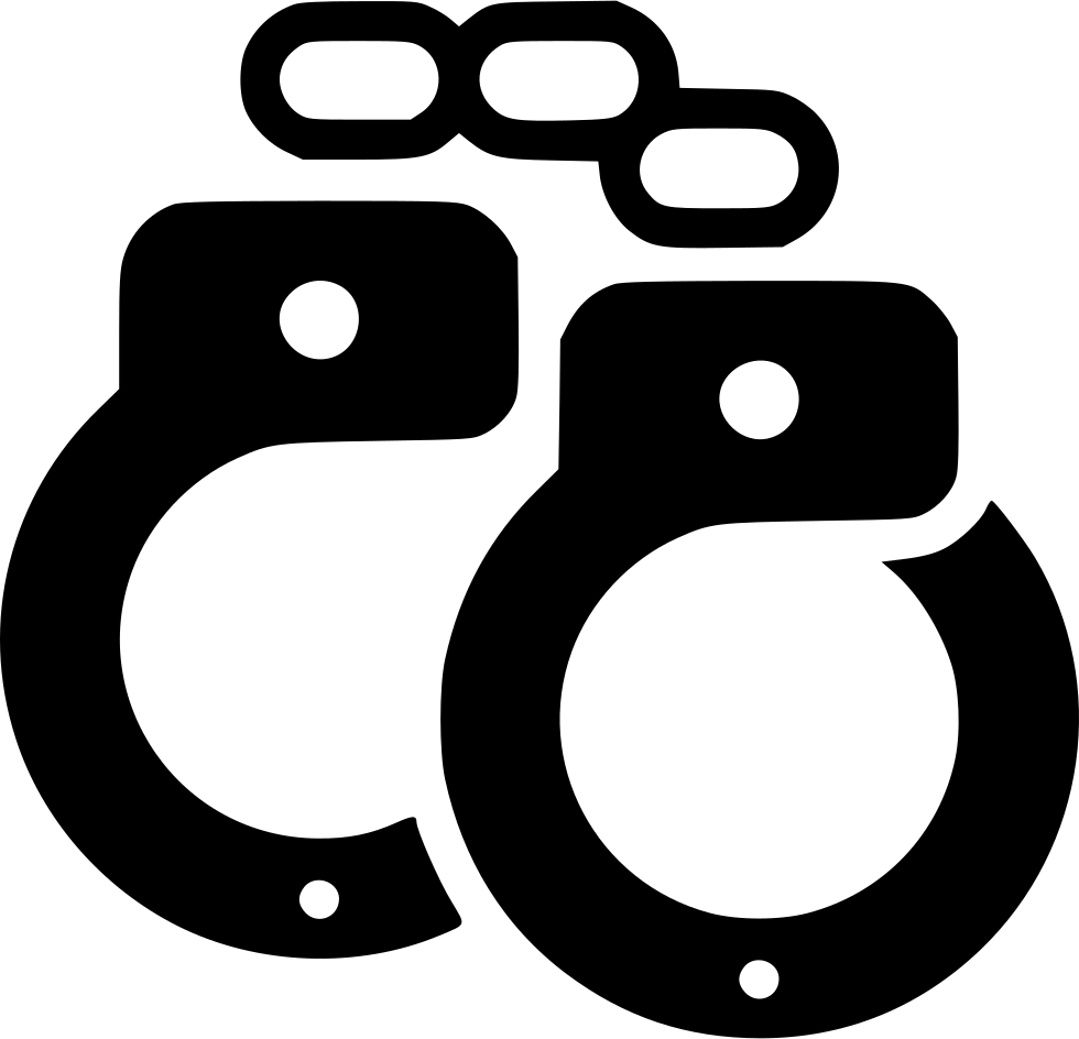 Handcuffs Shackles Restraints Svg Png Icon Free Download.