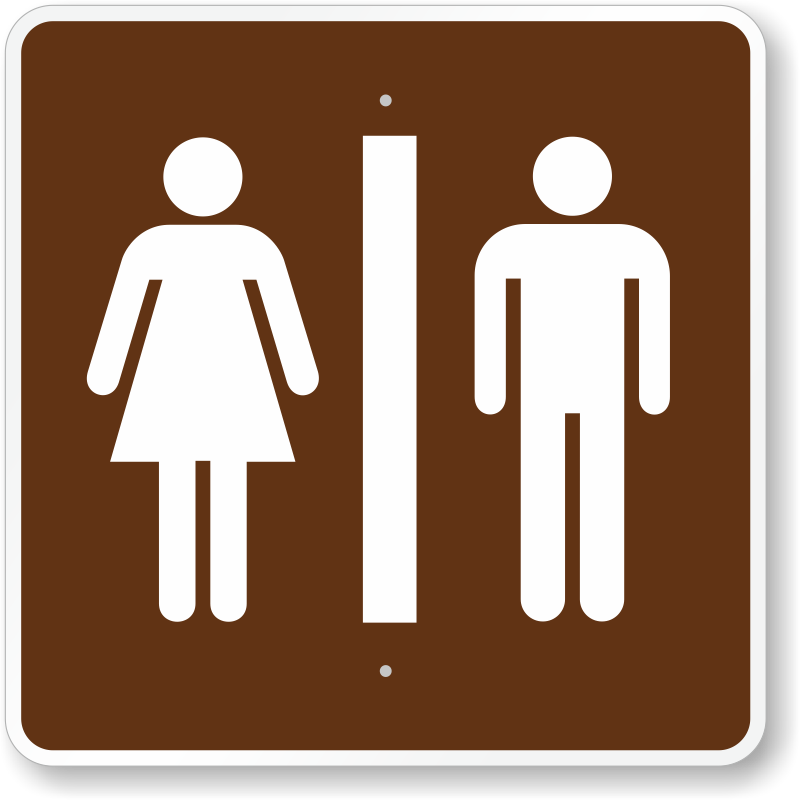 Image result for camping restroom signs clipart.