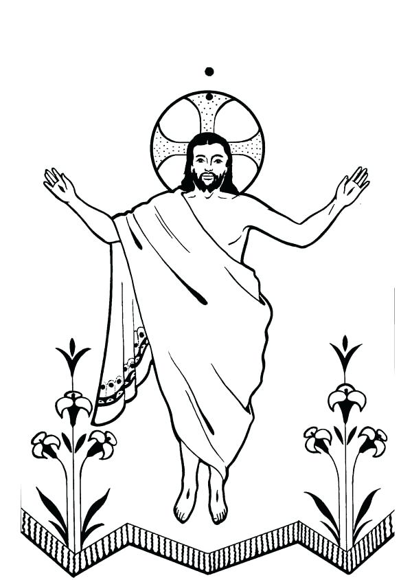 The resurrection of jesus clipart 3 » Clipart Station.