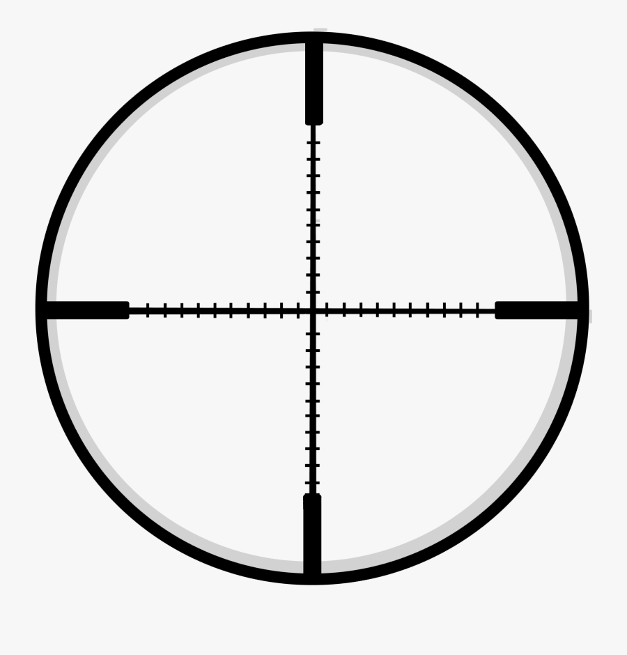 Rifle Scope Crosshairs Png.