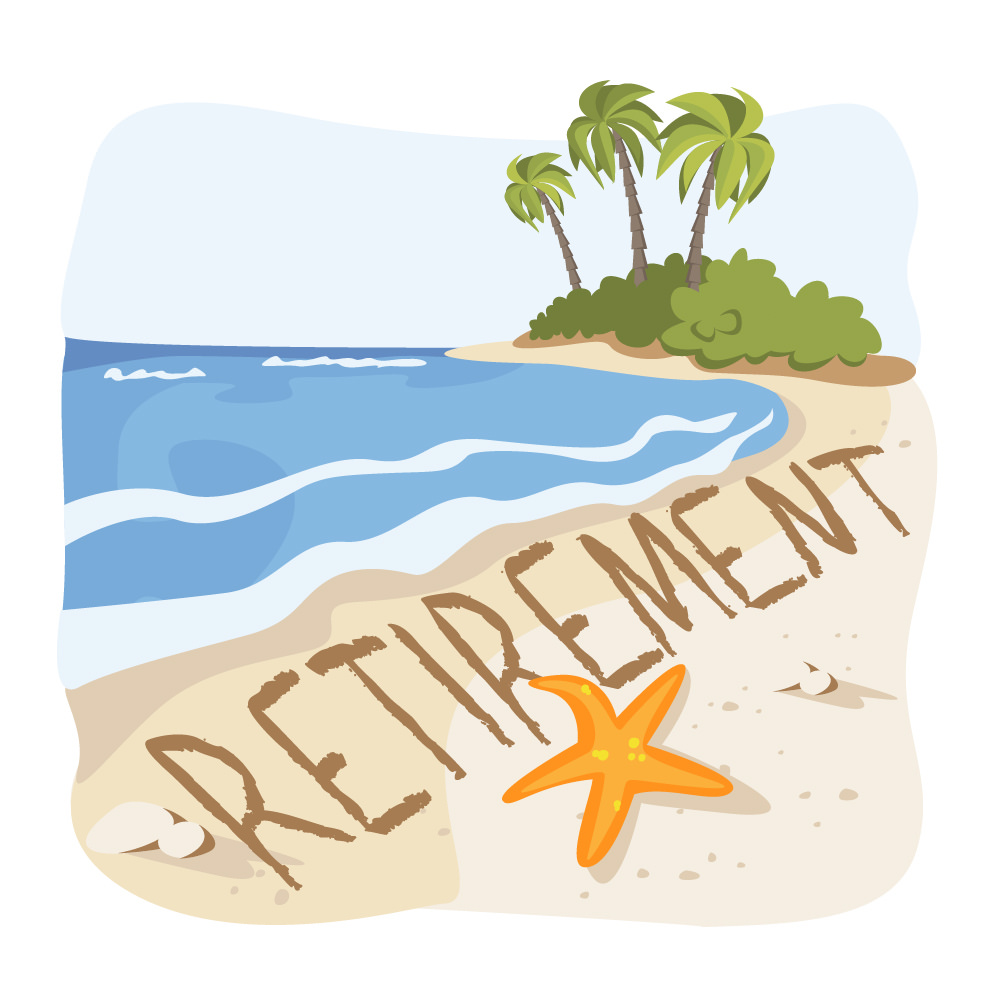 Beach clipart retirement, Beach retirement Transparent FREE.