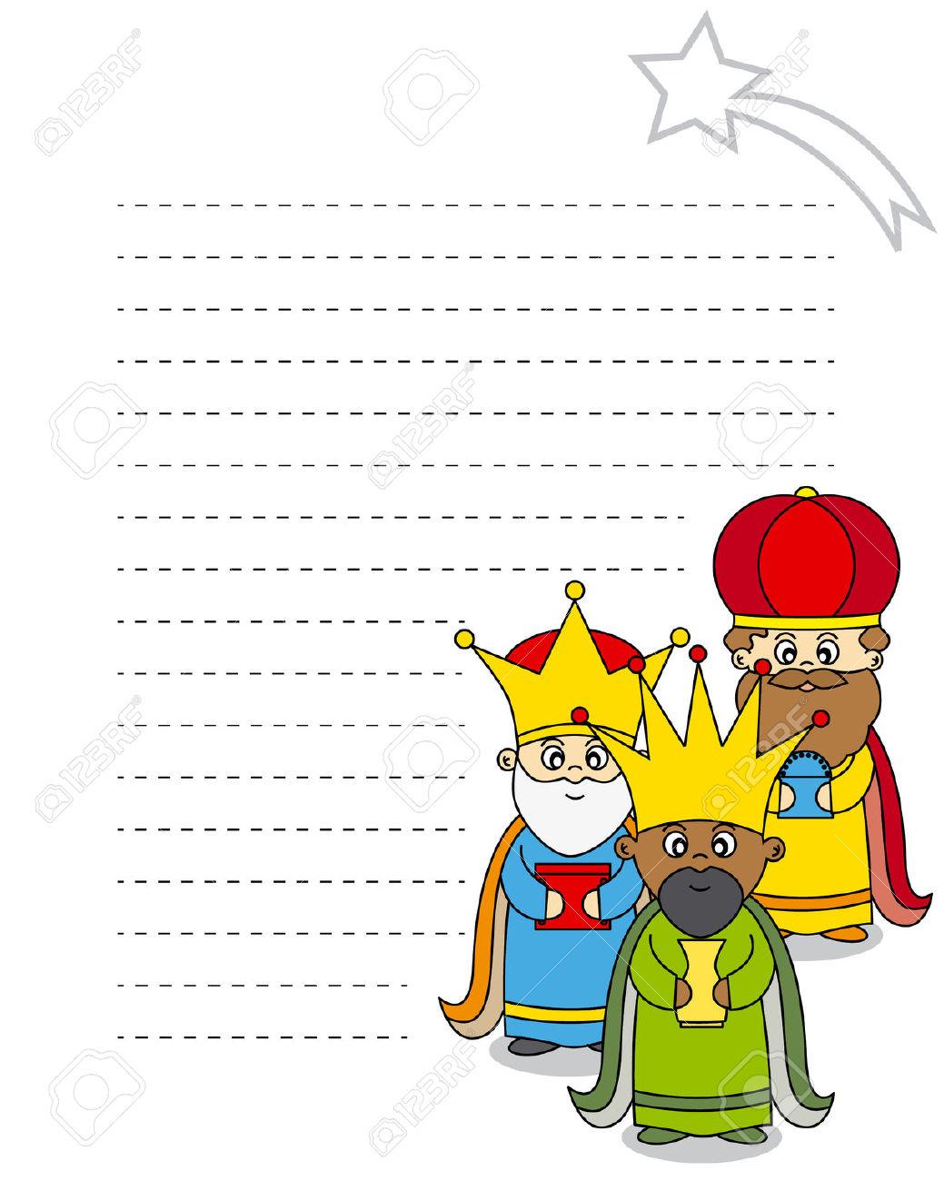 clipart reyes magos #8
