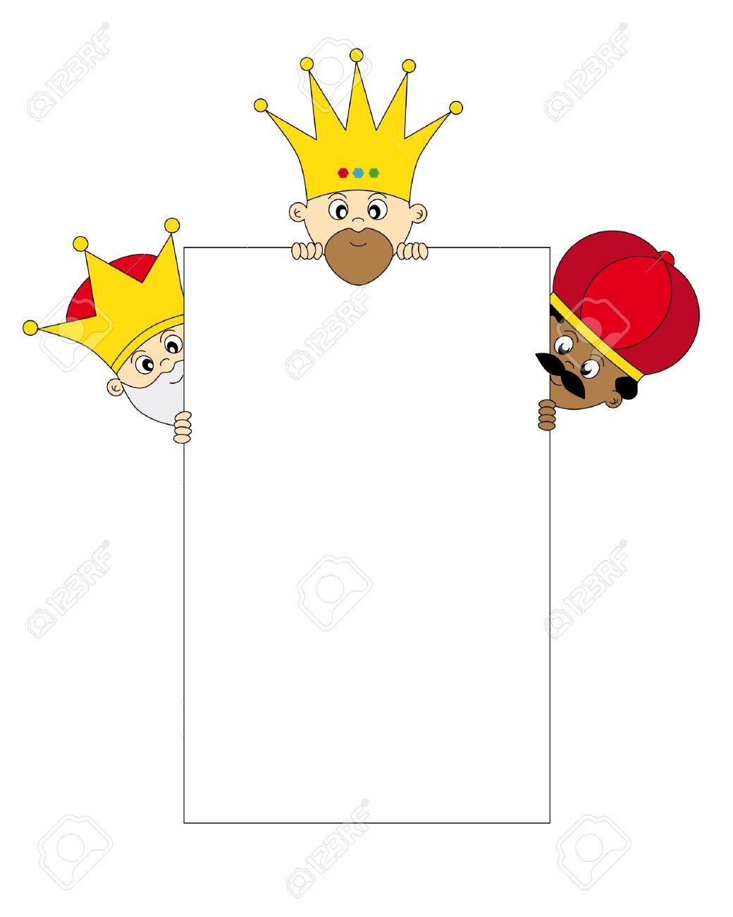 clipart reyes magos #6