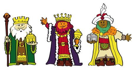 clipart reyes magos #4