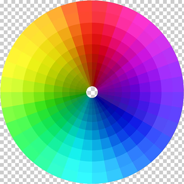 Color wheel RGB color model Complementary colors, betta PNG.