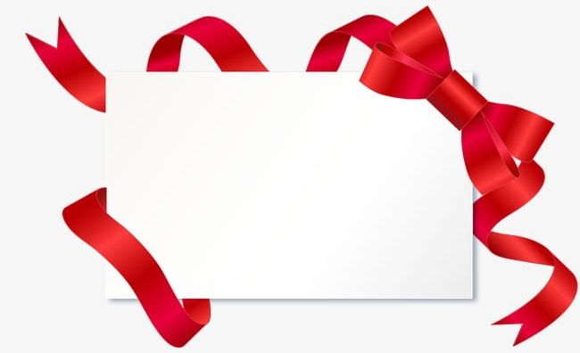 Red Ribbon Border Signs PNG, Clipart, Border Clipart, Frame, Red.