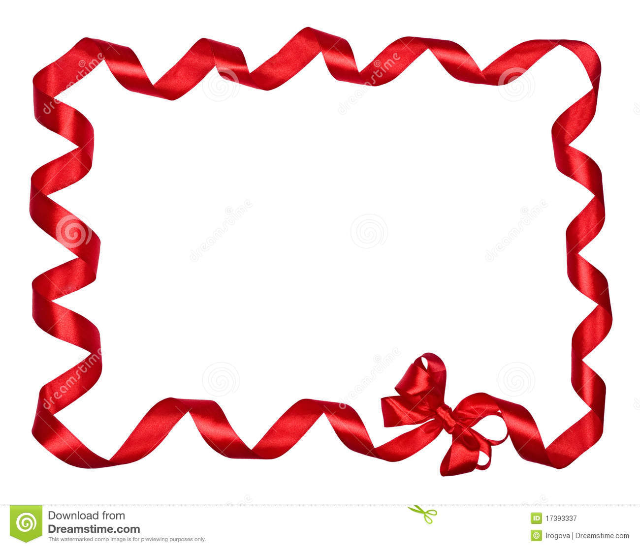 21+ Ribbon Border Clip Art.