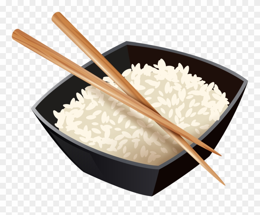 Chinese Rice And Chopsticks Clipart (#4963133).