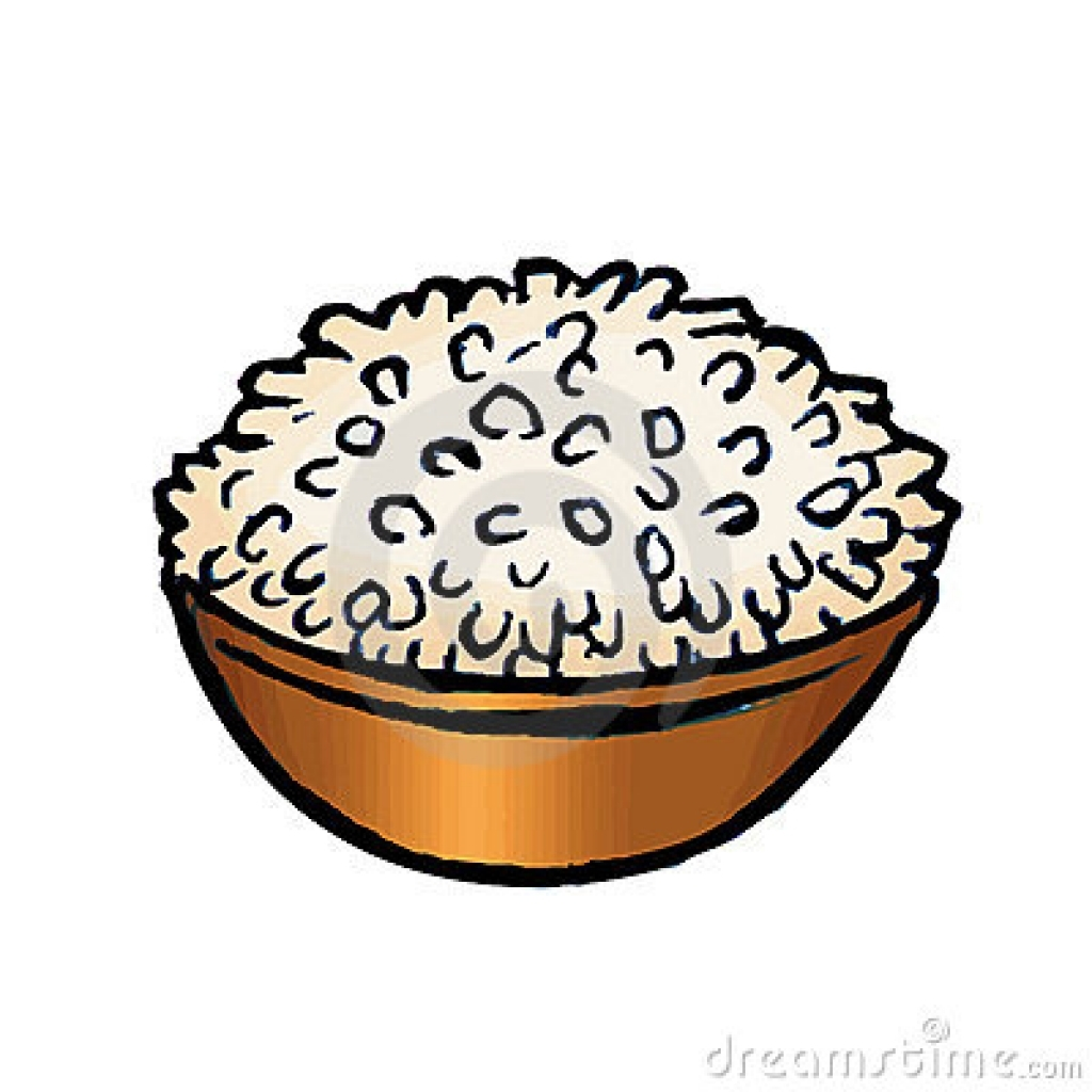 Panda Clipart Rice Bowl #12.