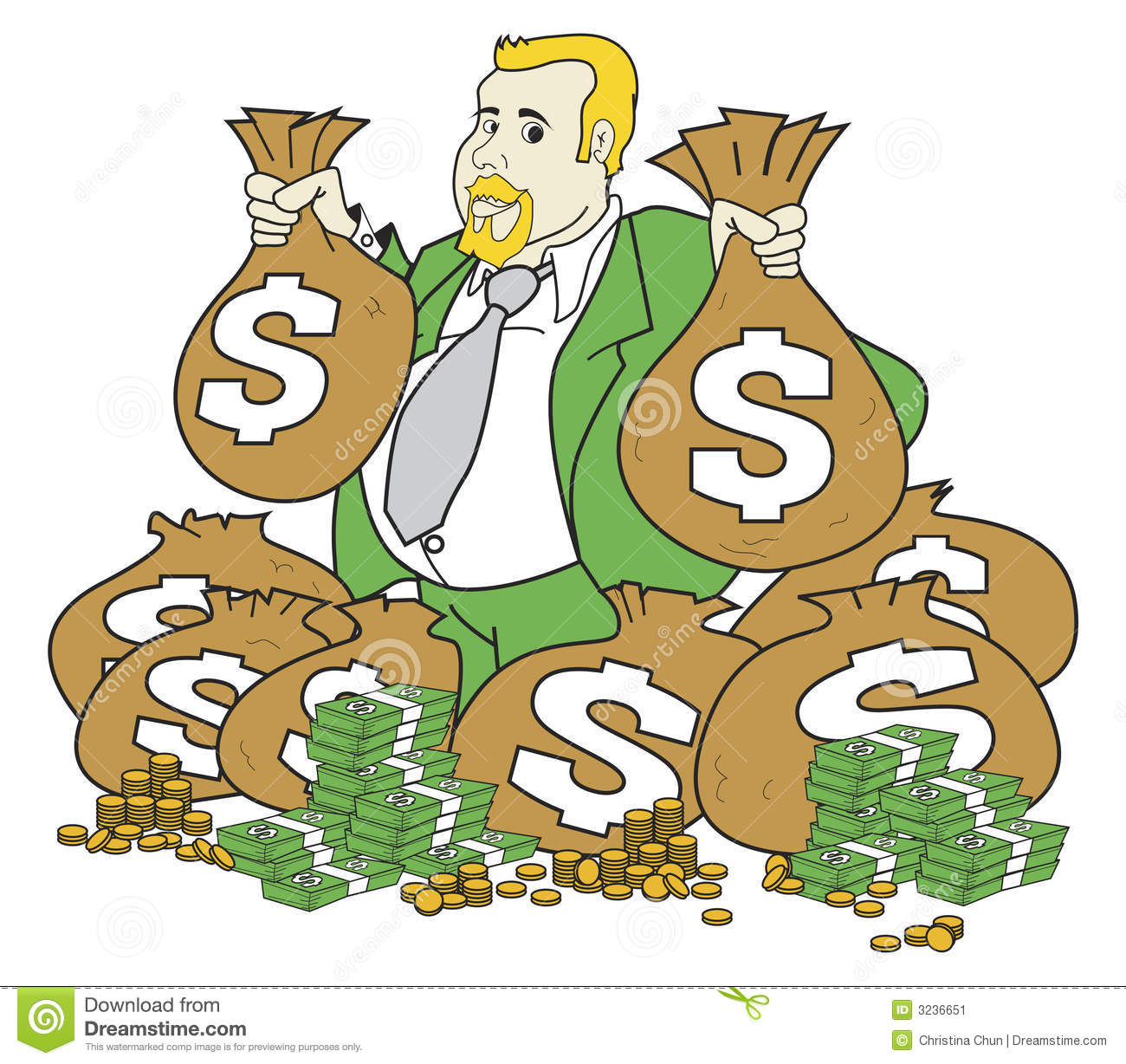 Rich man clipart 5 » Clipart Station.
