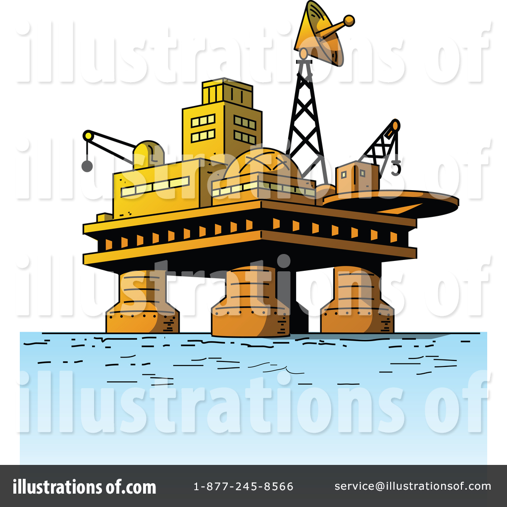 Oil Rig Clipart #1372837.