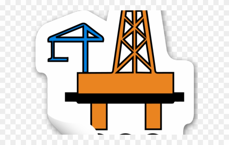 Oil Rig Clipart Oil Industry.