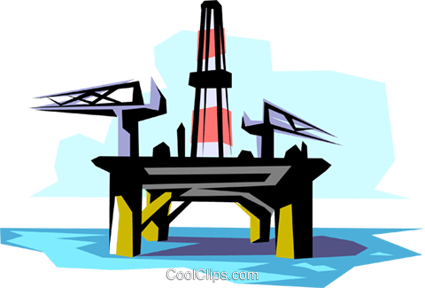 Oil Rig Clipart 12.